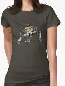 Doom Guy versus Spider Mastermind Womens Fitted T-Shirt