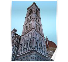 Giotto's Campanile at dusk Poster