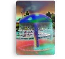psychedelic water shroom Metal Print