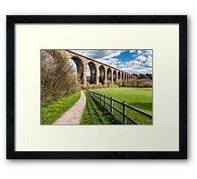 Cefn Viaduct  Framed Print