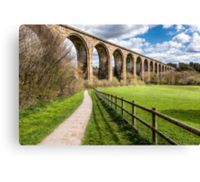 Cefn Viaduct  Canvas Print