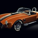 Shelby Cobra 427 Orange with Black Stripe by Marc Orphanos