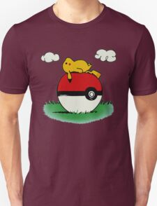 Poke House,Pikachu,Pokemon T-Shirt