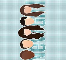 New Girl Silhouette iPod/iPhone Cover by ImEmmaR