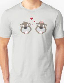 Beavers in love T-Shirt