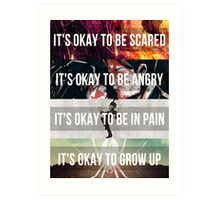 It's Okay - MCR Art Print