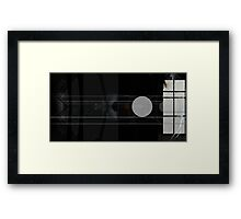 Future Unknown Framed Print