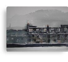 Edinburgh Snow 1 Canvas Print