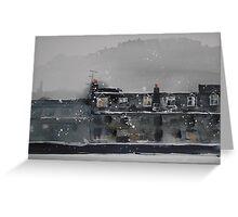 Edinburgh Snow 1 Greeting Card