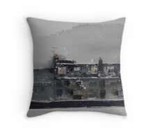 Edinburgh Snow 1 Throw Pillow