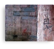 Wall 21 Canvas Print