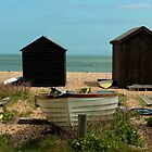 Kingsdown - Fisherman&#x27;s Huts by rsangsterkelly