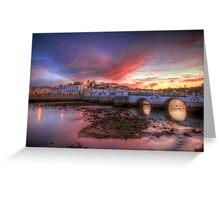 Tavira Twilight Greeting Card