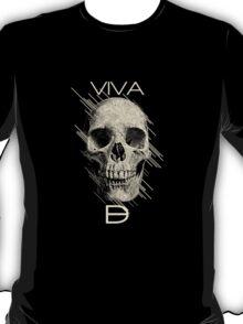 Viva Dark Beauty Magazine Skull Logo Gear T-Shirt