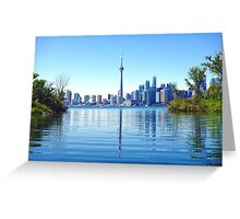 Toronto Cityscape Greeting Card