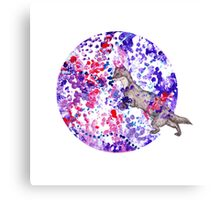 Bubble Weasel  Canvas Print
