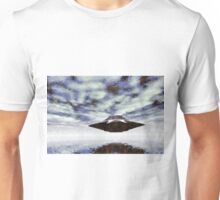 UFO Over Water by Raphael Terra Unisex T-Shirt