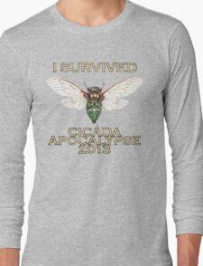 Cicada Apocalypse 2013 Long Sleeve T-Shirt