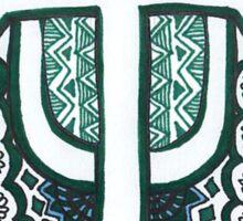 Tulane University Drawing Sticker