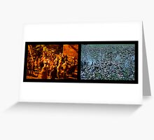Cacophony Greeting Card