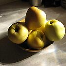 Yellow Apples by Tim Miklos