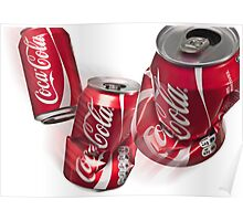 Coke Can Poster