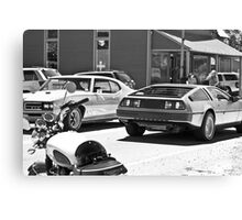 AMC Delorean/GTO JUDGE/Triumph Bonneville all in 1 - Liepers Fork, TN  Canvas Print