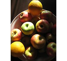 Apples & Oranges Photographic Print