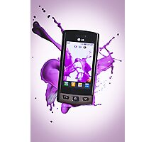 LG Mobile Phone Photographic Print