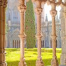 King John I Cloisters of Batalha Monastery. by tereza del pilar
