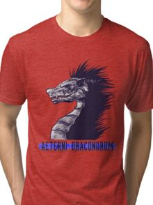 Everlasting Dragons (version 2) Tri-blend T-Shirt