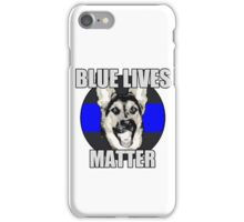 Blue Lives Matter   iPhone Case/Skin