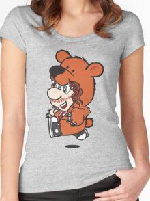 Marioholic Women's Fitted Scoop T-Shirt