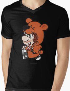 Marioholic Mens V-Neck T-Shirt