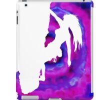 cut out for climbing iPad Case/Skin