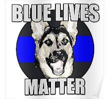 Blue Lives Matter   Poster