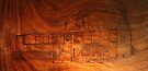 Pyrography: Heritage Hideaway Cafe by aussiebushstick