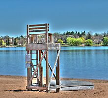 Life Guard Chair by Jimmy Ostgard