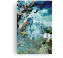 Cracked Bird  Canvas Print