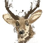 Painted Deer by minun3