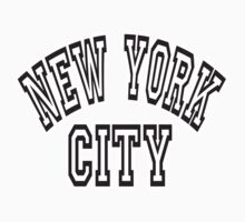 NEW YORK, CITY, USA, America, American, Classic Type One Piece - Long Sleeve