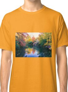 Foliage in central park Classic T-Shirt