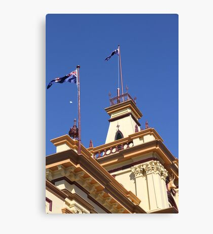 The Old Town Hall, Glen Innes, NSW Canvas Print