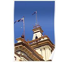 The Old Town Hall, Glen Innes, NSW Poster