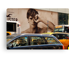 Early Morning Manhattan  (5th. Avenue)  Canvas Print