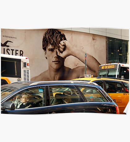 Early Morning Manhattan  (5th. Avenue)  Poster