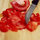 Chopped Tomato by Ali Choudhry