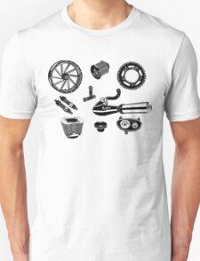 Parts & Accessories Illustration Unisex T-Shirt
