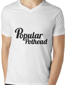 Popular Pothead Mens V-Neck T-Shirt