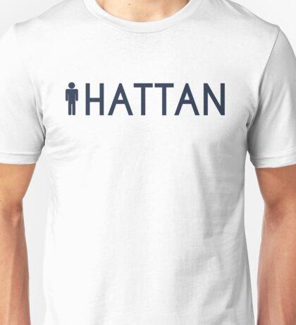 Man hattan Tee - Yankee Blue Lettering Unisex T-Shirt